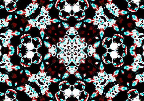 Artistic bokeh background. Soft red defocused lights