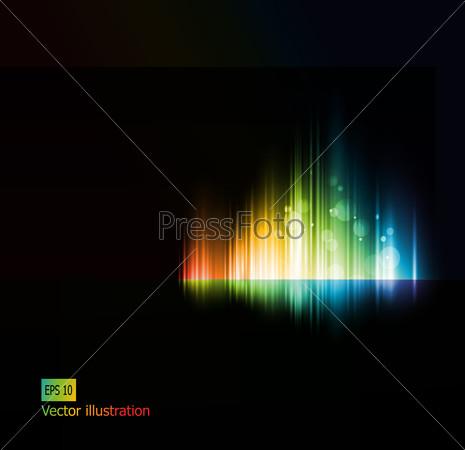 Цвета при загрузке вектора на фотосток