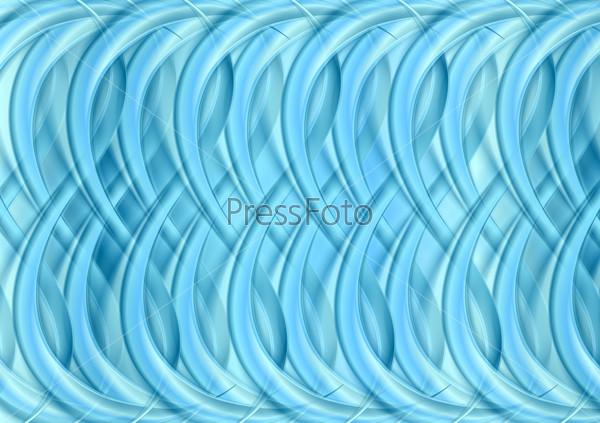 Синий абстрактный фон