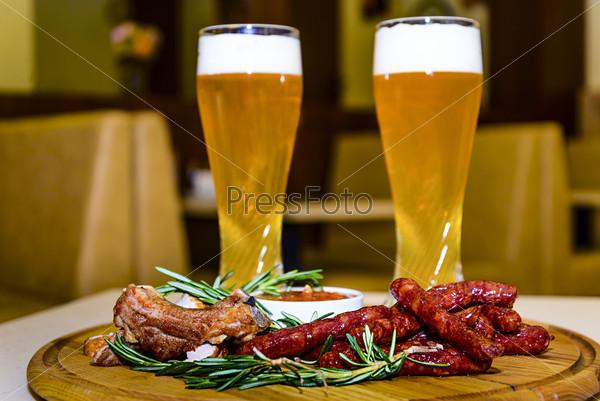 Мясо по ковбойски к пиву