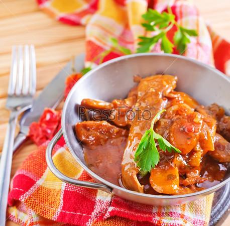 Соус для жареной говядины