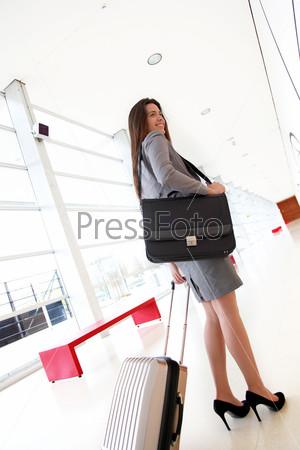 Предприниматель в коридоре