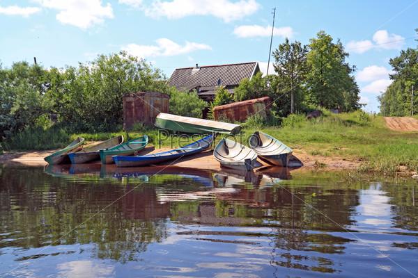 Сельские лодки