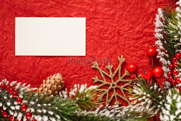 Рождественская рамка