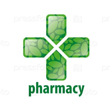 vector logo cross for pharmacy