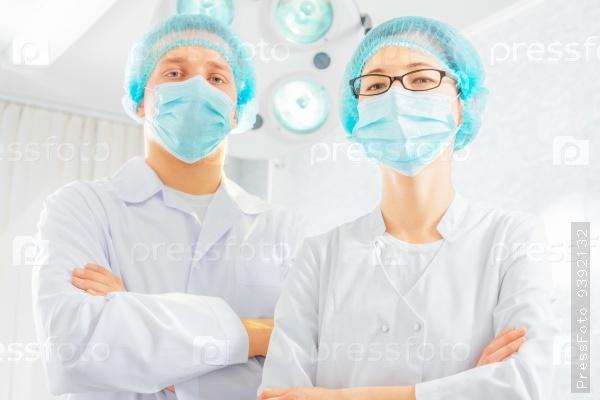 Two surgeons doctors