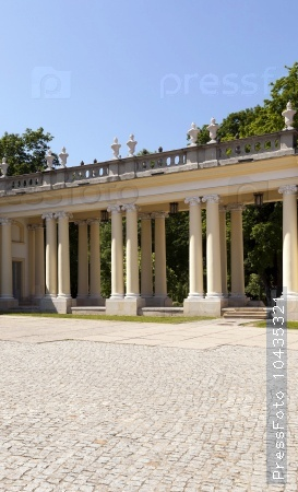 Palace  .  Bialystok. Poland