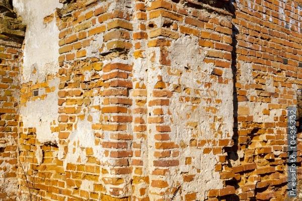 the ruins   church