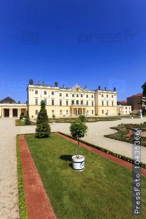 Palace  Bialystok. Poland