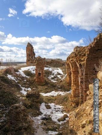 ruins ,   Golshany  Belarus