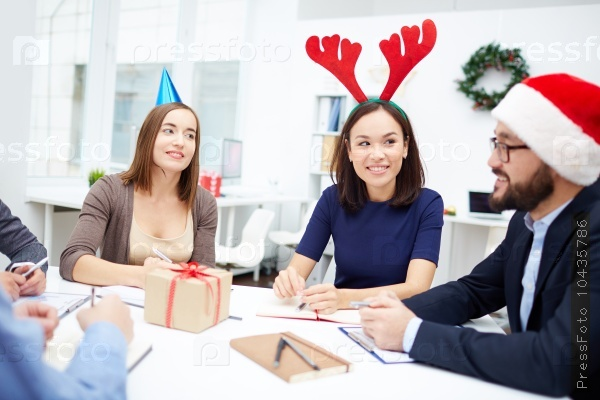 Holiday in office