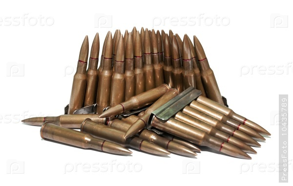 The old rifle cartridges