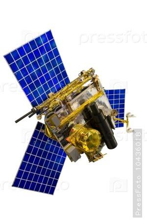 Model of Telecommunication Satellite