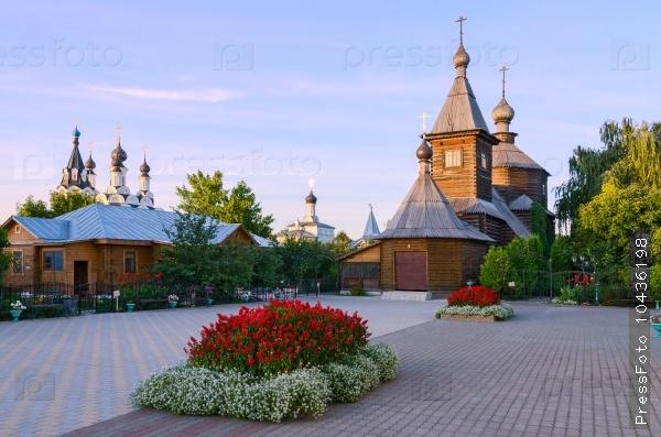 Wooden church in honor of St. Sergius of Radonezh, Murom