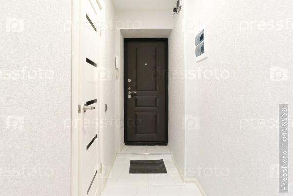 small corridor with bright colors