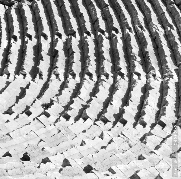 in turkey europe myra  the old theatre abstract texture of ste