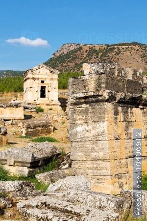and   roman   history pamukkale      the column