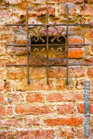 milan  in italy old church      abstract  background stone