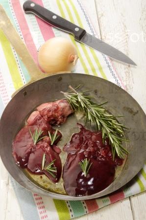 chicken heart and chicken liver