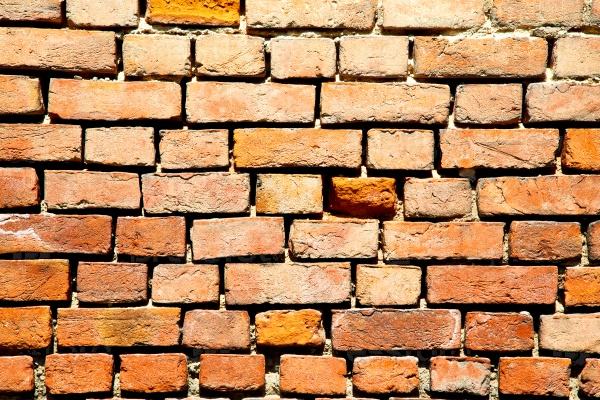 brick in  italy old wall  texture material the