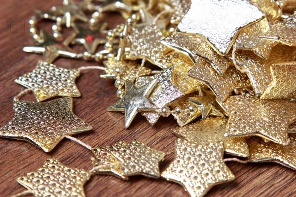 Рождественские украшения звездочки