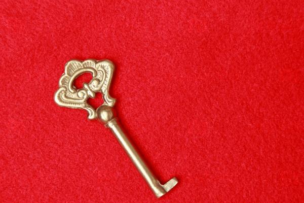 Старинный Золотой ключ