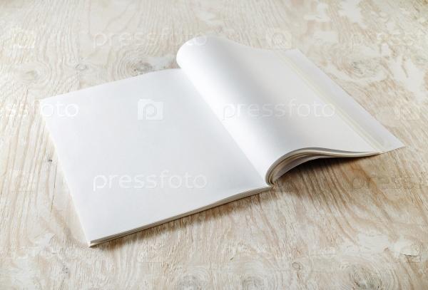 Пустые страницы журнала