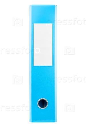 Голубая папка для документов