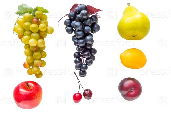 Фрукты и овощи из пластика