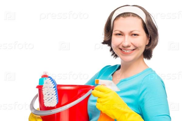 Красивая домохозяйка