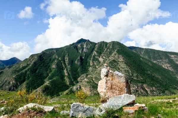 Алтайские горы летом