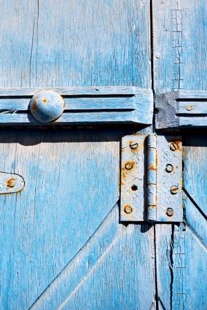 Фрагмент старой деревянной двери