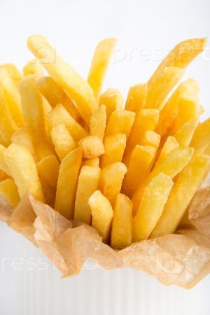 Картофель в бумажной обертке