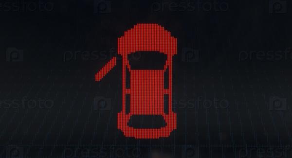 Современная автомобильная панель