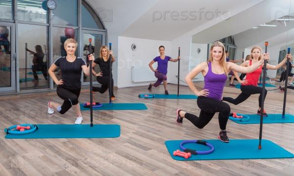 Фитнес в группе