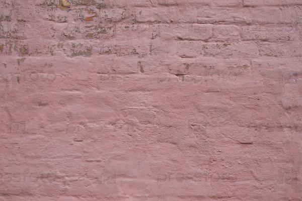 Розовая кирпичная стена фон
