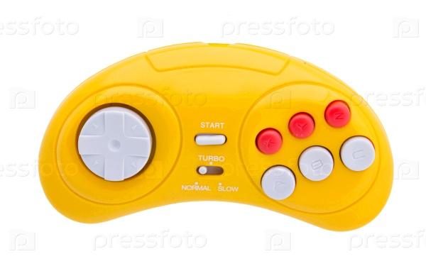 Желтый джойстик
