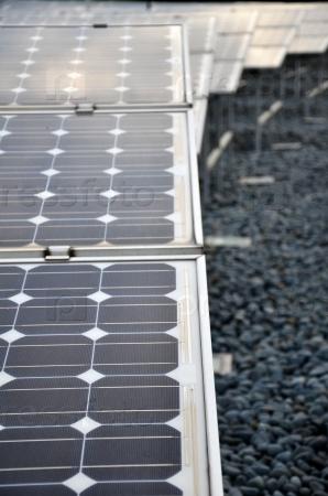 Фотоэлектрические панели солнечных батарей
