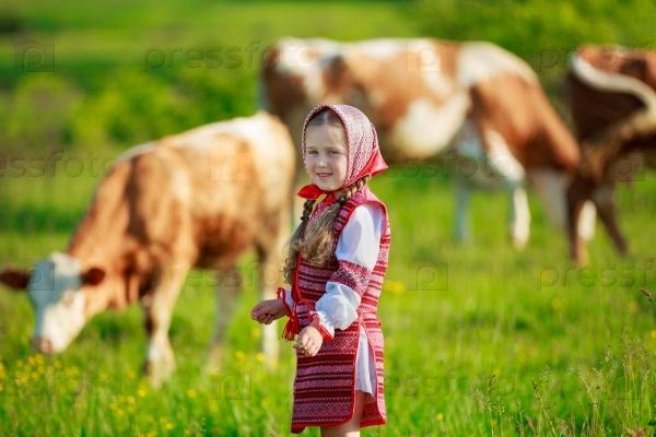 Славянская девочка