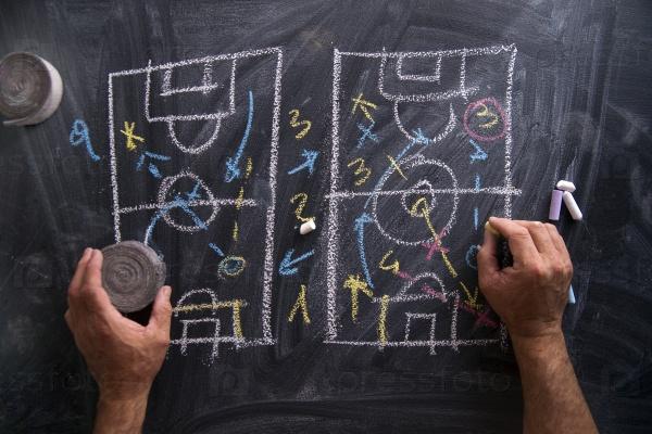 Урок футбольной тактики
