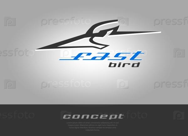 Скорость эскиз логотипа