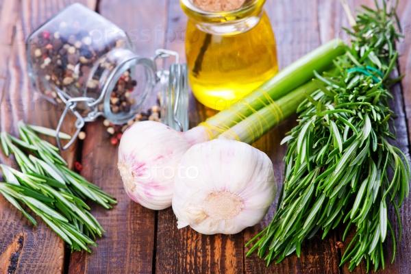 Чеснок и оливковое масло