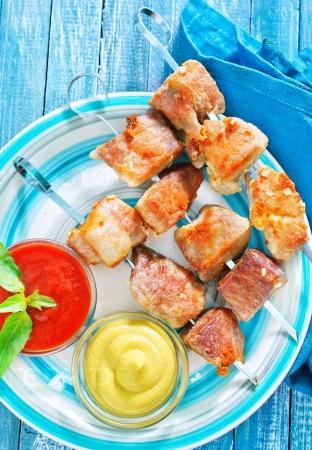 Мясо-кебаб