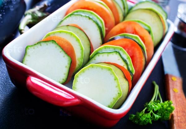 Овощи для рататуя