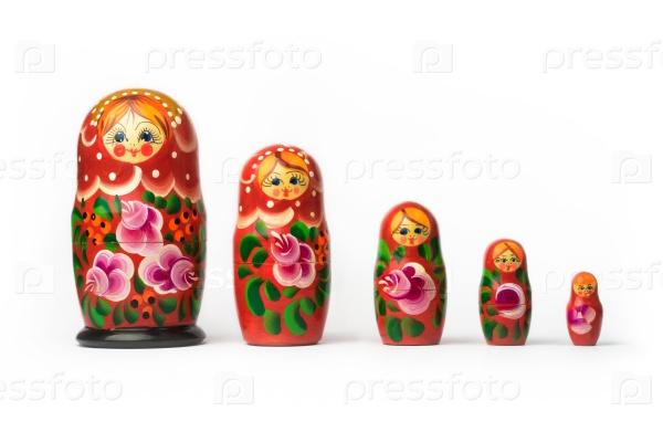 Традиционная русская матрешка