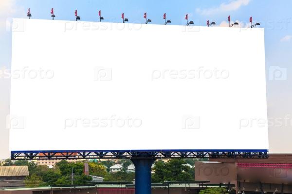 Пустой билборд