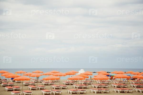 Пляж для загорающих