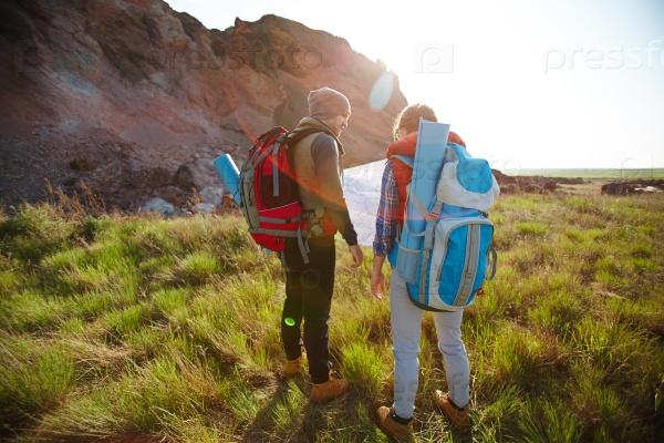 Обсуждение маршрута поездки