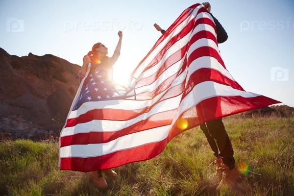 Счастливый патриоты