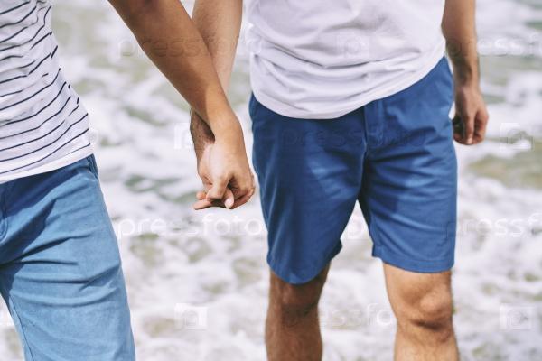 Прогулка на пляже